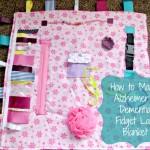 Alzheimer's/Dementia Fidget Lap Blanket