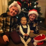 Merry Christmas – 2013… Mummy Finally got us all to sit!!
