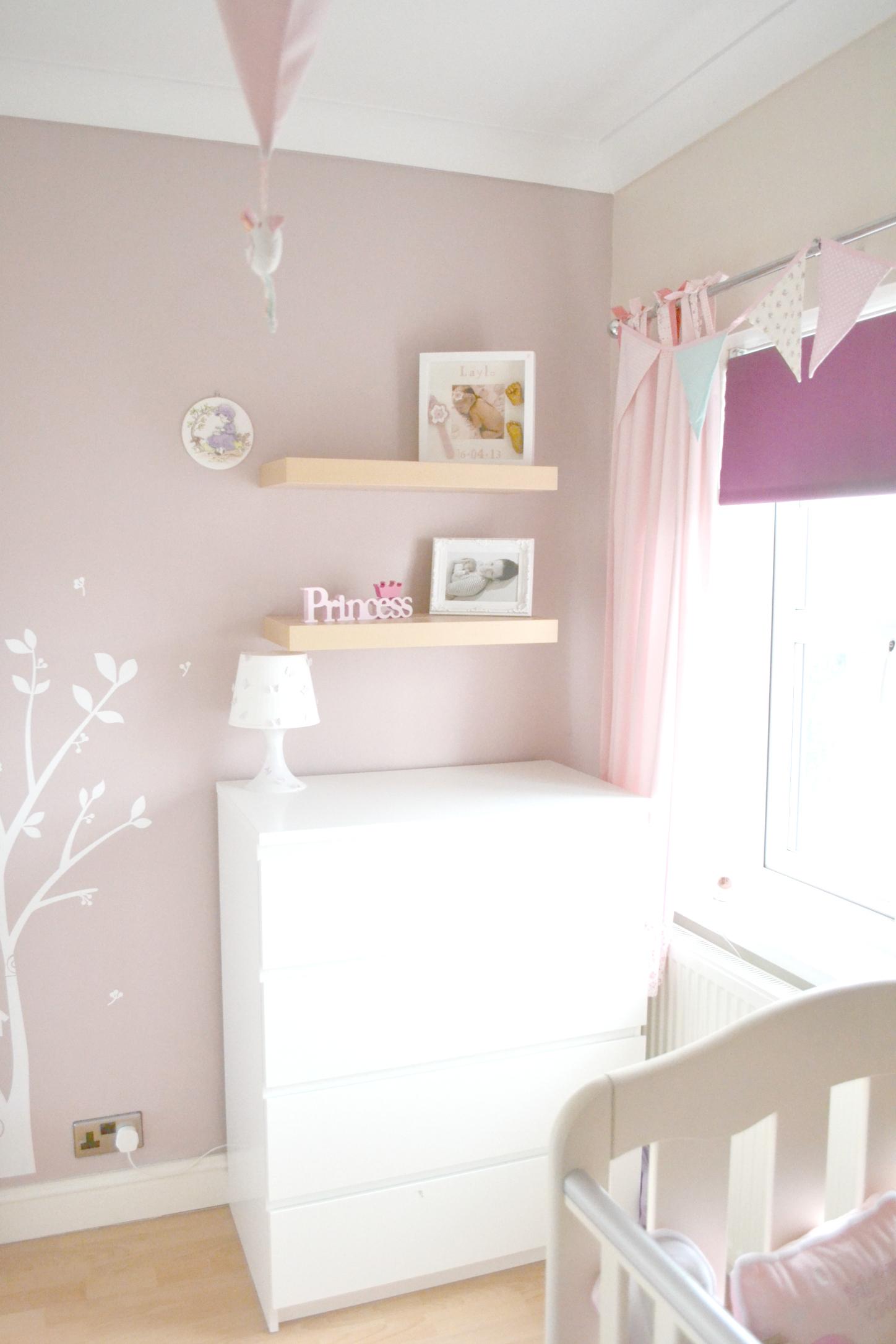Layla S Baby Nursery Bedroom Butterflies Amp Pink