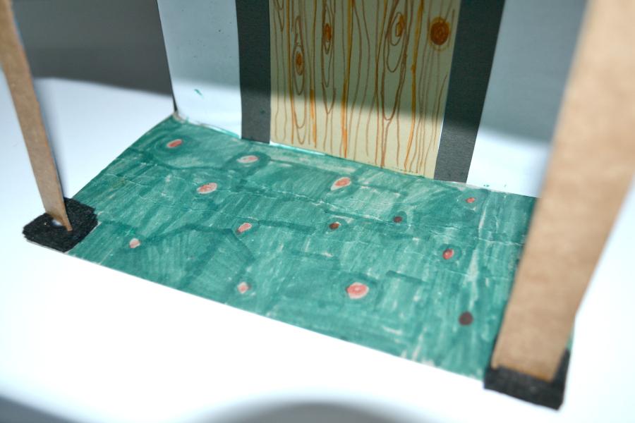 Making A Tudor Cardboard House School Homework Leannes