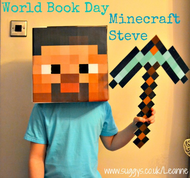 DIY Costumes How To Make A Easy And Quick Minecraft Steve Costume For FREE Leannes Blog UK