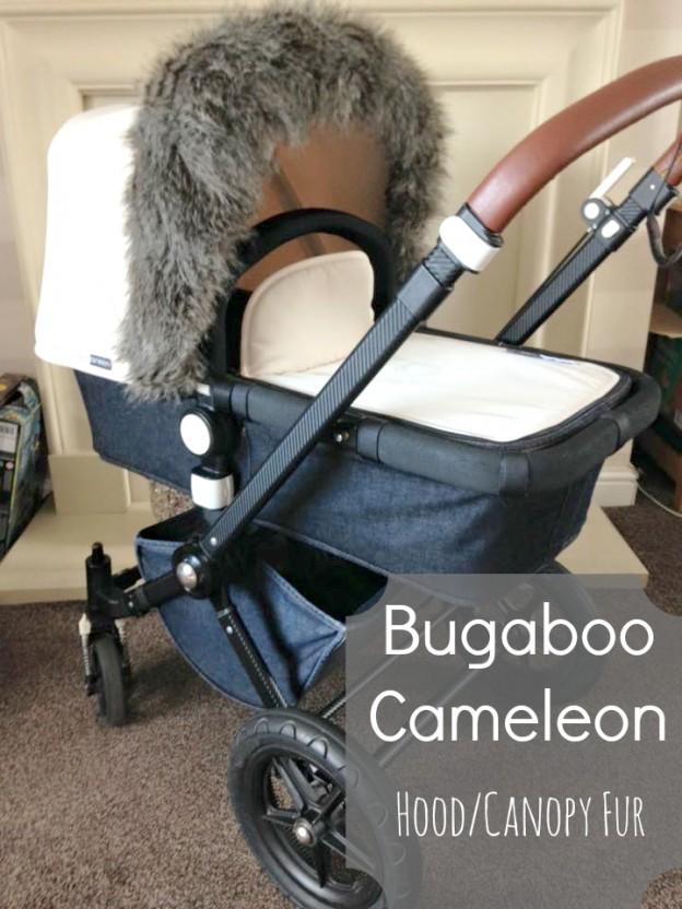 Bugaboo Cameleon 1, 2, 3 HoodCanopy Fur Trim